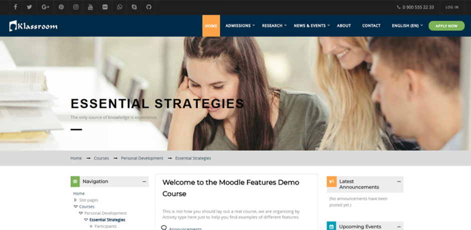 moodle template 4